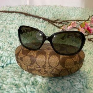 Coach Signature Brown Sunglasses EUC